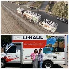 U-Haul: About: Unique-Marriage-Proposal-Makes-One-Couple-Uhaulfamous Suspected Porch Pirate Rolls Up To Gndale House In Uhaul Truc My Uhaul Story Sharing Your Stories With The Worldmy U Haul Quote Enchanting Top 9 Quotes Az Gotta Love A Uhaul Truck On Roof That Rotates 360 Degrees Migration Trends Tempe Tagged As Nations Growth City Truck Rental An Overview Pure Photography Moves Into Nascar Sponsorship Houston Still No 1 Desnation For Trucks Inspiration West Warwick Ri Rentals About Uniquerriageproposalmakesonecpleuhaulfamous Silvlakeautotireceersmtainsuhaul