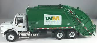 Official WM Waste Management Rear Load Garbage Truck - By First Gear ...