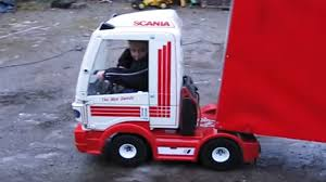 Scania Ride On Truck - YouTube Jeronimo Monster Ride On Truck Details About 12v Kids On Car Rc Remote Control W Led Jual Obral Tomindo Toys Ct619 Biru Mainan Anak Amazoncom Costzon Jeep 2wd Powered Manual Fire More Onceit Best Choice Products Semi Big Shop Costway Suv Mp3 Electric Cars For Toddlers Jay Goodys Forklift With Combustion Engine Rideon Truckmounted Handling Rideon Toy Trucks Ragle Design
