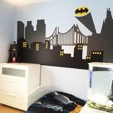 Superhero Room Decor Uk by My Batman Gotham City Wall Mural Home Is Where The Heart Is