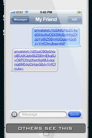 Private Life Texting Send secret SMS messages on the App Store