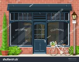 Modern Shop Front Design Exterior Images Graphic Fashion Stylish