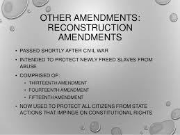 RETAIN SUCH AUTHORITY 55 OTHER AMENDMENTS RECONSTRUCTION