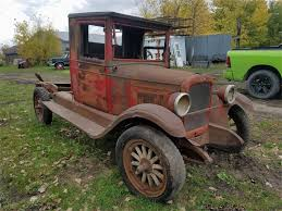 1925 Chevrolet 1 Ton Pickup For Sale | ClassicCars.com | CC-1029350 2019 Chevy Silverado How A Big Thirsty Pickup Gets More Fuelefficient 133099 1957 Chevrolet 12ton Pickup Rk Motors Classic Cars For Sale 1986 86 K30 1 One Ton 4x4 Four Wheel Drive Regular 1929 Truck Dealer Sales Mailer The New Utility 12 Ton 6 For Custom 1953 Studebaker With Navistar Diesel Inline 1951 Dually Flatbed Sale Youtube Blue Stake Body Tshirt By Keith For Sale 1989 Dually New Engine And If 1990 Dump Online Government Auctions Of Customer Gallery 1947 To 1955
