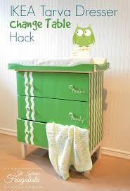 ikea tarva change table hack and a baby shower the interior