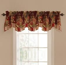 Valances Curtains For Living Room by Home Decoration Graceful Red Waverly Valances For Living Room