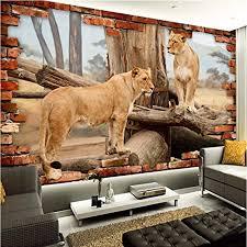 fototapete 3d effekt loch geparden tier tapete modern vlies riesiges bild wohnzimmer schlafzimmer jugendzimmer dekoration 200x150cm