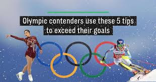chambres d hotes lub駻on olympic contenders 5 tips on how to exceed your goals
