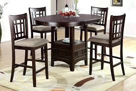 Bar Style Dining Table Pub Room Sets Kitchen Size