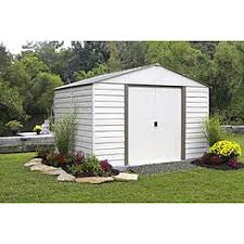 Arrow Woodridge Steel Storage Sheds by Garden Sheds Storage Buildings Kmart
