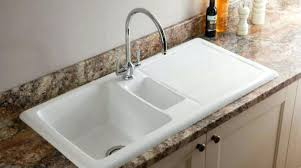 clean ceramic kitchen sink best way to image sinks intunition