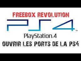 freebox ouvrir les ports ps4 nat