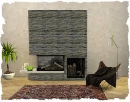 kamin fireplace glass tank sims4 chalipos