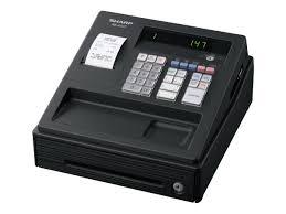 caisse de bureau sharp xe a147 bk caisse enregistreuse calculatrices imprimante