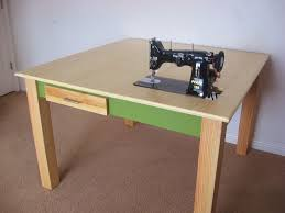 Sewing Cabinet Plans Instructions by Make A Custom Sewing Table 9 Steps With Pictures