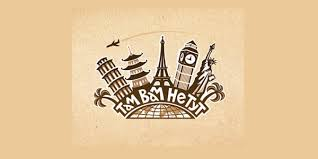 There Not Here Travel Agency Logo 4 For