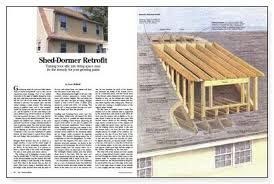 Shed Dormer Plans by How To Frame A Shed Dormer Search Results Popular Woodworking