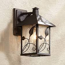 garden collection 10 1 2 high outdoor wall light 70532