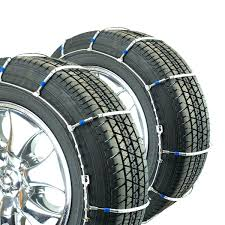 Titan Passenger Cable Tire Chains Snow Or Ice Covered Road 8.29mm ...