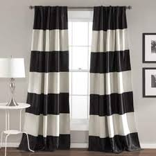 Gold And White Sheer Curtains by Stripe Curtains U0026 Drapes For Less Overstock Com