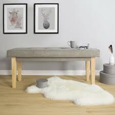 furniture betthocker sitzbank polsterbank sitzhocker weiß