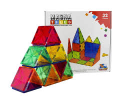 100 magna tiles master set big daddy fire rescue toy play