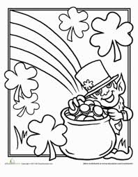 St Patricks Day Coloring Pages For Adults Kids