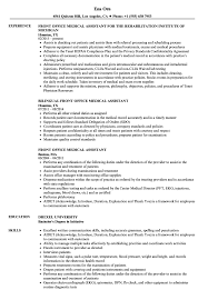 Front Office Medical Assistant Resume Samples | Velvet Jobs Career Objectives For Medical Assistant Focusmrisoxfordco Cover Letter Entry Level Medical Assistant Resume Work Skills New Examples Front Office Receptionist Example Sample Clinical Resume Luxury Certified Personal Best Objective Kinalico 6 Example Ismbauer Samples Masters Degree Valid 10 Examples Of Beautiful And Abilities A