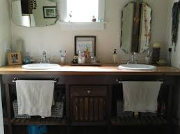 Diy Rustic Bathroom Vanity by Homemade Vanity Furniture Refinishing Pinterest Homemade Rustic