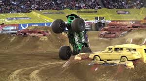 100 Monster Truck Backflip Grave Digger Freestyle BACKFLIP Awesome Save Jam Philly 2011