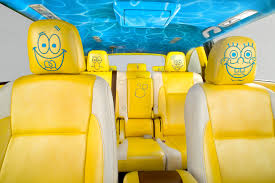 spongebob squarepants themed 2014 toyota highlander spongebob