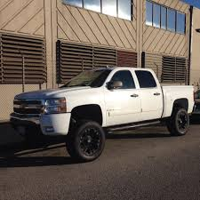 Four Door Chevy Truck In White | Chevy Trucks | Pinterest | Truck ...