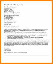 5 hotel job application letter service letters