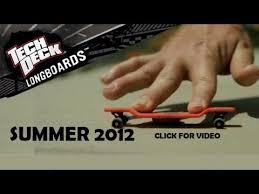 Tech Deck Penny Board by 2012 Tech Deck Longboard Review Youtube