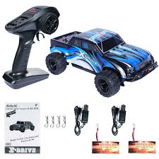 Amazon.com: PLRB All Terrain RC Cars, 4x4 Off Road RC Trucks 18 MPH ...
