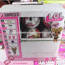 China LOL Surprise Doll Children Explosion Models Dolls Toy Ball White Limited Edition