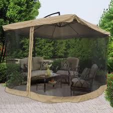 Patio Umbrella Offset 10 Hanging Umbrella by 9x9 U0027 Square Aluminum Offset Umbrella Patio Outdoor Shade W Cross