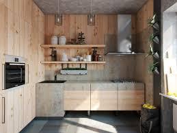 Oak Wood Panel Classic Kitchen Designs