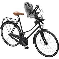 siege bébé velo yepp siège vélo avant mini a fixer sur le guidon gris argent