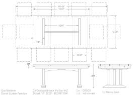 Standard Dining Table Dimensions Standard Dining Table Height