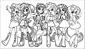My Little Pony Colouring Pages To Print