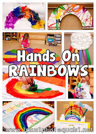 Artsy Rainbow Fun Arts & Crafts for Kids Pinterest