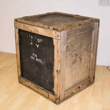 Large Wooden Crate Shipping Crates Storage Boxes Cartons Antiques
