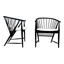 Pair Of Sonna Rosen Black Lacquered Midcentury 'Sunfeather' Lounge Chairs,  1954 Midcentury Show Wood Upholstered Chair Mid Century Modern Danish Style Armchair Lounge China Mid Classic Design Comfortable Hans Wegner Outdoor Orkney Island Rustic Folk Organic Elegant Contemporary Fniture Plastic Midcentury Stainless Steel And Alligator Harry Bertoia Wire Side Chairs Pair Roh Noordwolde Hoop 1960 Kstar Fundus Chair Phomenal Century Scdinavian Wooden Ding Cafe The Best Sellers You Need In Your Home