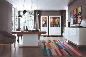 4 teiliges set 1x vitrine 2x kommode 1x esstisch design wohnzimmer esszimmer neu