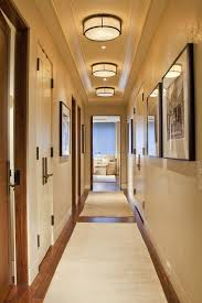 denver hallway light fixtures contemporary with crown molding