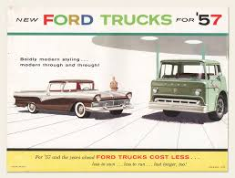 1957 Ford Trucks Brochure – OldCuts Ford Fseries A Brief History Autonxt Truck Pics Through Years Best Image Kusaboshicom Why Vintage Pickup Trucks Are The Hottest New Luxury Item L Series Wikipedia Motor Company Timeline Fordcom New Trucks Dealership In Marysville Oh Bob Chapman Sam Packs Five Star Of Plano Used Robinson Brothers Month Youtube 59 Styleside Ad Cars Pinterest Cars 10 Bestselling 2018so Far Kelley Blue Book Creates Pursuitrated F150 Police Truck Landi Renzo Usa Announces California Air Rources Board