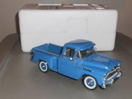 100 Apache Truck For Sale Danbury Mint 1958 Chevrolet Pickup 124 Blue SALE