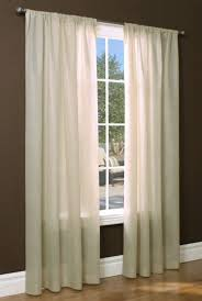 Sheer Curtain Panels 108 Inches by Insulated Rod Pocket Sheer Curtain Panel 50