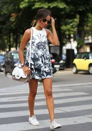 Converse Shoes Can Combine With Short And Maxi Skirt In The Hot Summer Days Shorts Various Lengths From